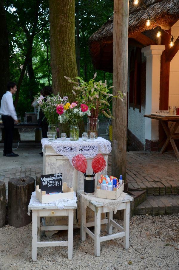 Hatékony módszer a hívatlan, vérszívó vendégek ellen I Bohém Esküvő