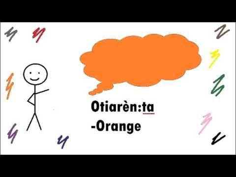 Mohawk Language Colors Oshohkwa'shon'a Kanien'keha Onkwehonwehneha Nativ...
