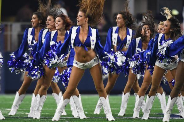 The Dallas Cowboys cheerleaders sported their best bikinis this week for its annual calendar shoot.