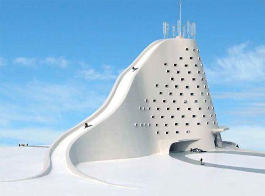 conceptual ski hotel!