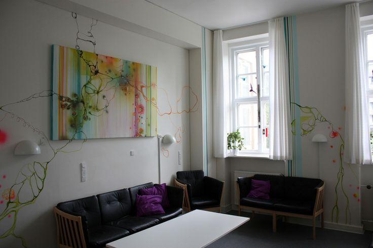 Wonderful Rikke Darling's Canvas and murals! http://www.rikkedarling.com