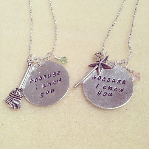 Wicked Inspired Elphaba and Galinda by LittleWonderEmporium, £13.50