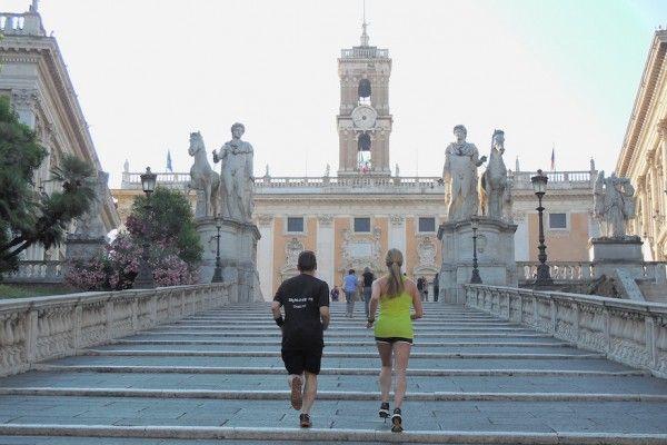 Sightjogging in Rome