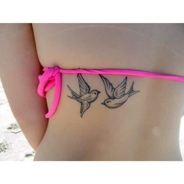 The swallow is one of the most often inked birds around! See why is these amazing #tattoo pics