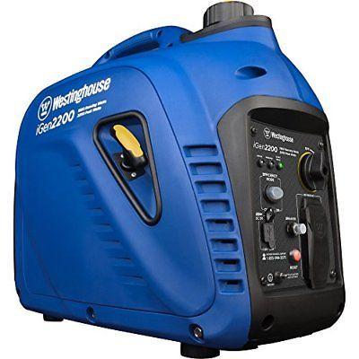 Westinghouse iGen2200 Super Quiet Portable Inverter Generator - 1800 Rated Wa...