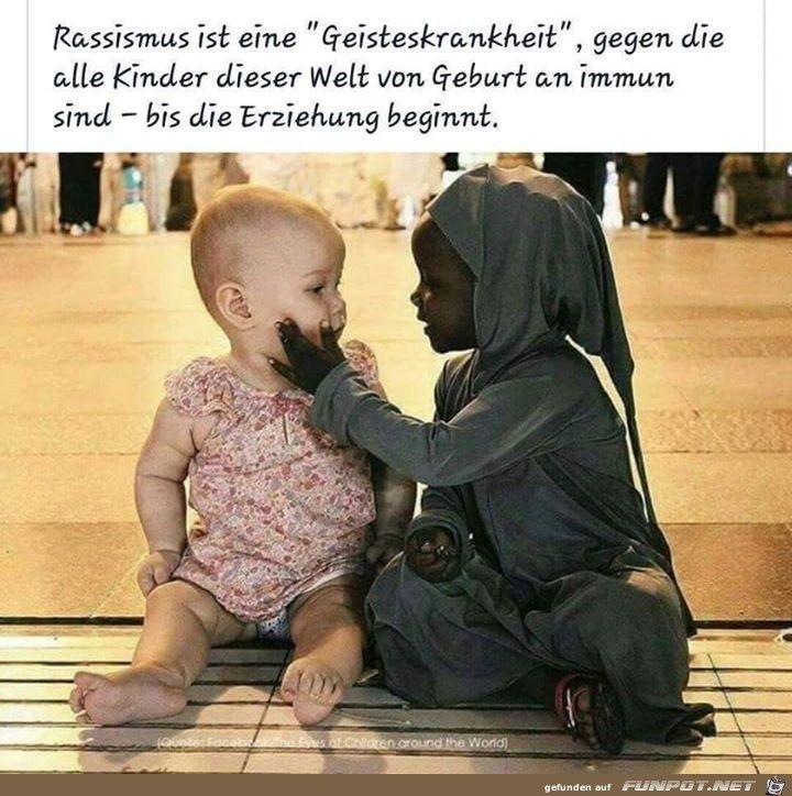 ein Bild für's Herz 'Rassismus.jpg'- Eine von 14986 Dateien in der Kategorie 'Sprüche' auf FUNPOT. #hilarious #spaß #liebe #witz #ausrede #jokes #funnypics #lachflash