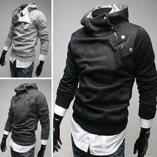 2015 High Collar Dust Coat Hoodie – @Mma Pandey