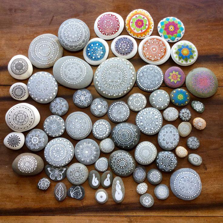 https://flic.kr/p/q11JXn   A Bunch of my Mandala Painted Pebbles