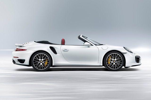 2014 Porsche 911 Turbo & Turbo S Cabriolet