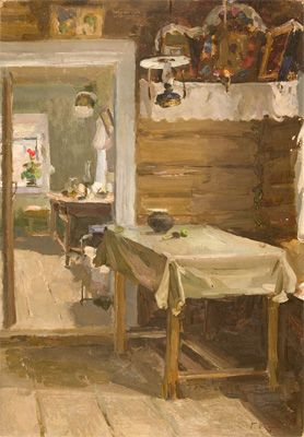 Gennady  Korolev  Cottage   Date Painted: 1954