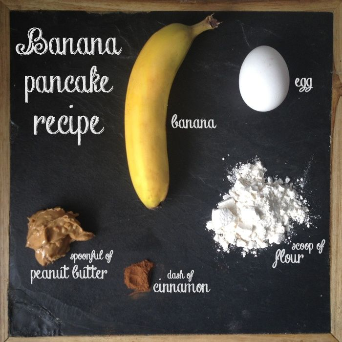 How to make a banana pancake