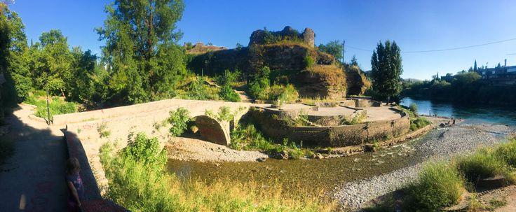 Old Bridge over the Ribnica, Podgorica   Starý most přes řeku Ribnici, Podgorica