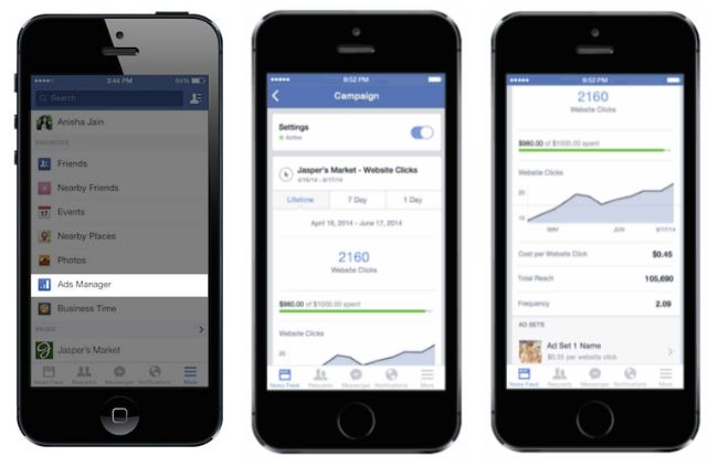 how to find ads manager on facebook
