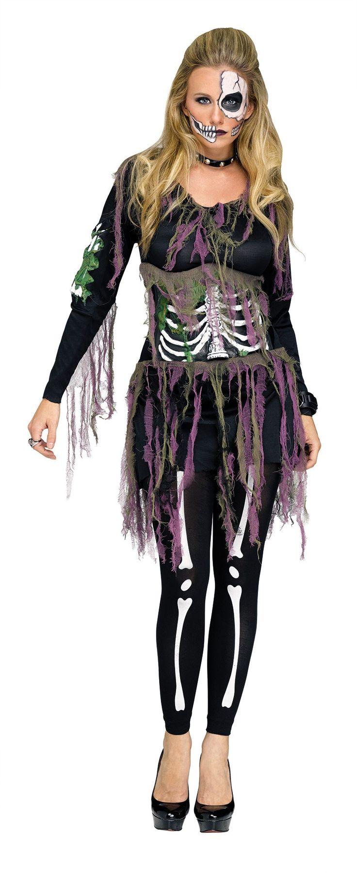 Best 25+ Skeleton costume women ideas on Pinterest | Quick easy ...