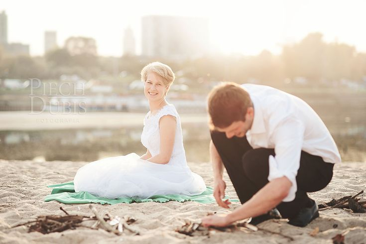 plener ślubny warszawa stadion plaża