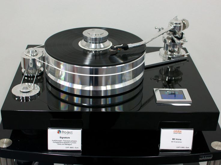 The Audio Beat - High End 2012 Munich - Pro-Ject Signature, Air Tight Acoustic Masterpiece and Kuzma Stabi M