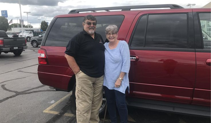 Robert and Lois, we hope you enjoy your new 2017 FORD EXPEDITION.  Congratulations and best wishes from Landmark Ford and SEANITA PRATER.