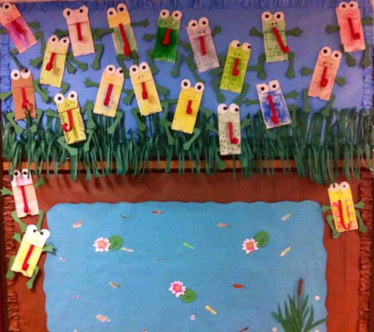 Bulletin Board Ideas With Frogs: Pond Life: A Collection Of Other Ideas To Try