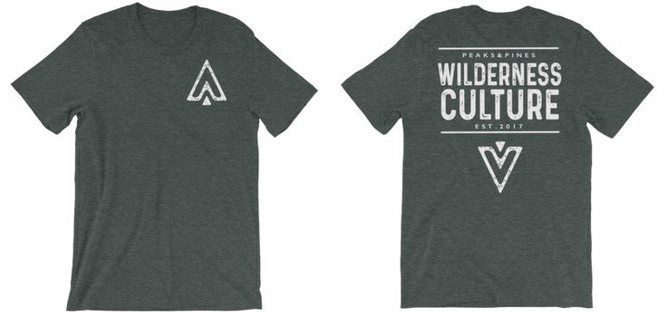 Wilderness Culture Tee Every purchase supports the fight to protect the wild!