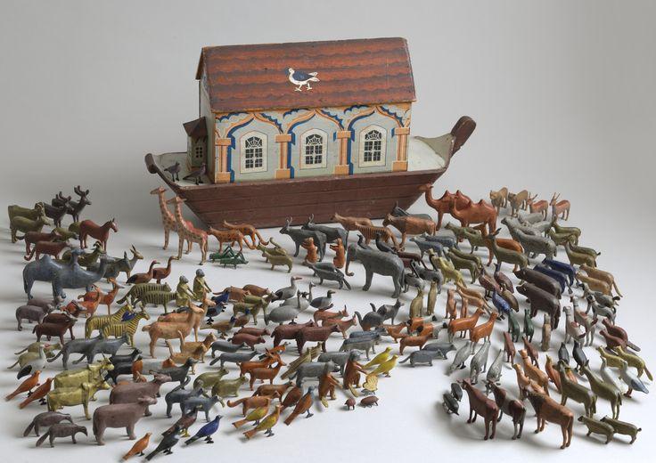 Significant Noah's Ark Toy - Robert Young Antiques