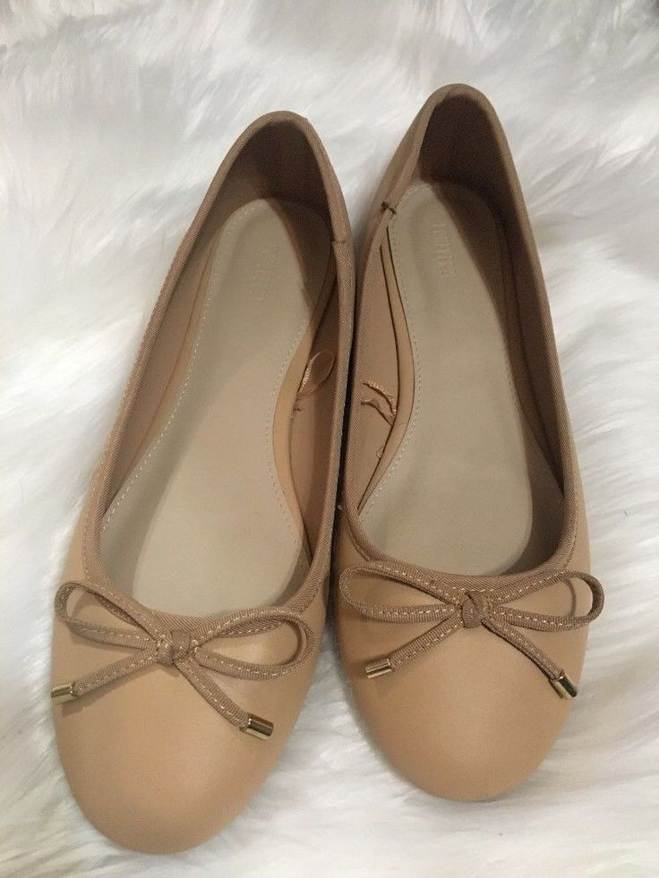 FAB Ladies NEW size 9 FOREVER21 womans shoes Beige Ballet Flats! Super cute and comfy bid $2.50 @eBay