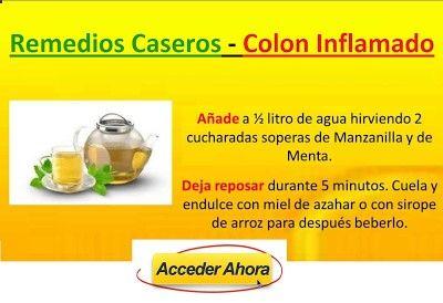 Remedios Caseros Para El Colon Irritable e Inflamado con Gases: Sanar Colon…