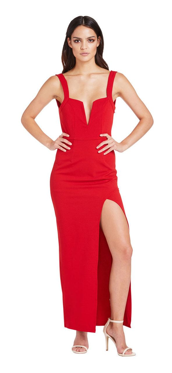 New Flame Dress (Red) - Miss G