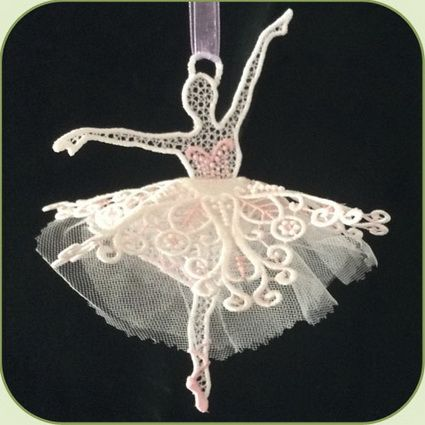 3D Ballet Dancer 1 | Embroidery Delight | Your source for all embroidery designs, Applique, Quilt Blocks, Animal, Floral, Lacework, etc.