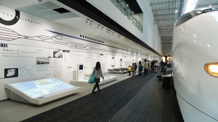 JR東海「リニア・鉄道館」内覧会の画像 | 意匠太郎☆デザイナーな日々