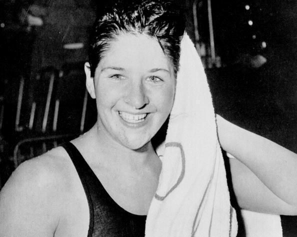 Dawn Fraser - 2 Gold, 1 Bronze at '56 Olympics.