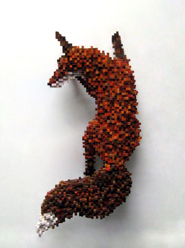 Pixel Art em Madeira