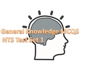 General Knowledge MCQS NTS Test Set 1  General Knowledge MCQS NTS Test Set 1  1:- Panama Leaks Related to a Law Firm name? a.Panama Papers b.Clyde & Co c.Mossack Fonseca 2:- First woman Chief Minister of Occupied Kashmir is: Shama Khalid Anousha Rehman Mehbooba Mufti (A) Sashma Suraaj 3:- Woman Seats in Senate? (A) 4 4:- Captain of Pakistan T-20 Team? A) Shahid Afridi B) Muhammad Hafeez C) Sarfraz Ahmed (A) D) Shoiab Malik 5-Current Affairs: Attorney General of Pakistan? A) Ashtar Ausaf (A)…