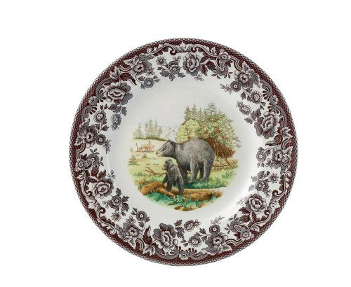 Spode Woodland American Wildlife Black Bear Dinner Plate Spode,http://www.amazon.com/dp/B000I4QST0/ref=cm_sw_r_pi_dp_g8lbtb01HMZVY5WH...4 of these
