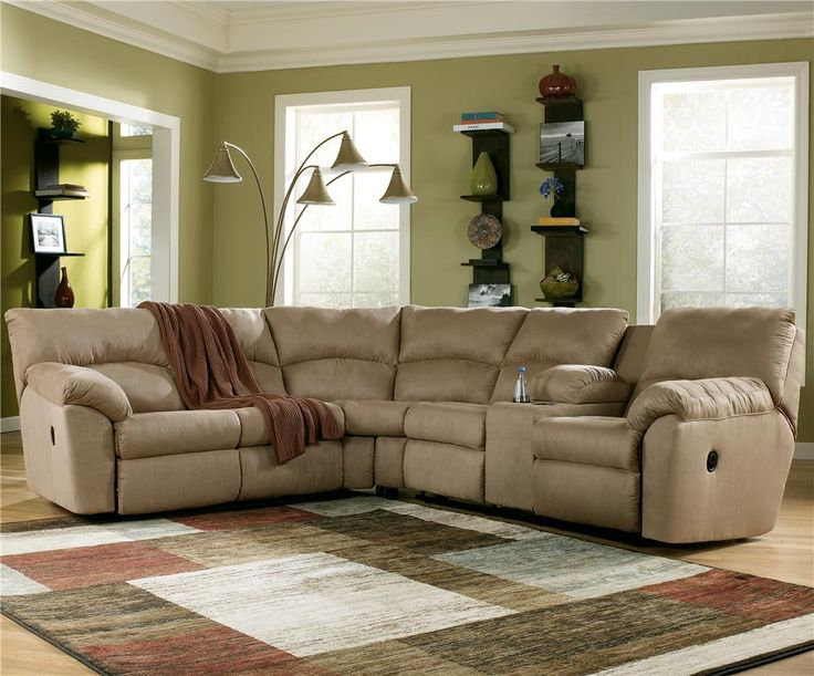 Amazon   Mocha 2 Piece Sectional Sofa By Ashley Signature Design
