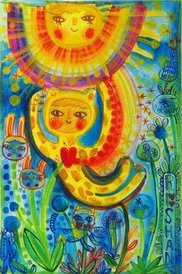 Il·lustració amb aquarel·la de Zaara Windeisen
