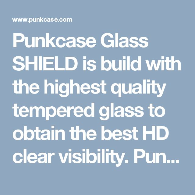 Punkcase Glass SHIELD is build with the highest quality tempered glass to obtain the best HD clear visibility. Punkcase Glass SHIELD covers the whole screen unlike other screen protectors from competitors. It also has 2.5D rounded edges, 0.33mm thick and has 9H hardness for superior protection. Punkcase designed the Glass SHIELD with an oleophobic coating which provides a smooth touchscreen experience without fingerprint residue being left behind.