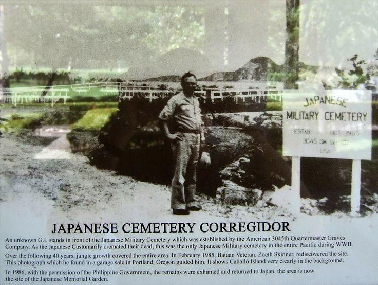 Japanese cemetery on Corregidor.