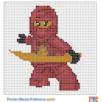 Nijango perler bead pattern. Download a great collection of free PDF templates for your perler beads at perler-bead-patterns.com