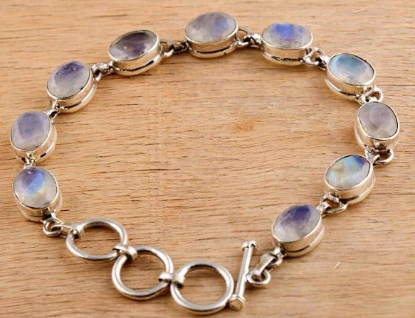 Awesome 925 silver #handmade  #Rainbow #Moonstone #Bracelet We deals in all types of jewelry like #Children's Jewelry #Engagement & Wedding, #Ethnic , Regional & Tribal, #Fashion Jewelry, #Fine Jewelry, #Handcrafted, Artisan Jewelry, #Jewelry Design & Repair, #Men's Jewelry, #Vintage & Antique Jewelry, #Wholesale Lots so please ask us if you have any enquiry
