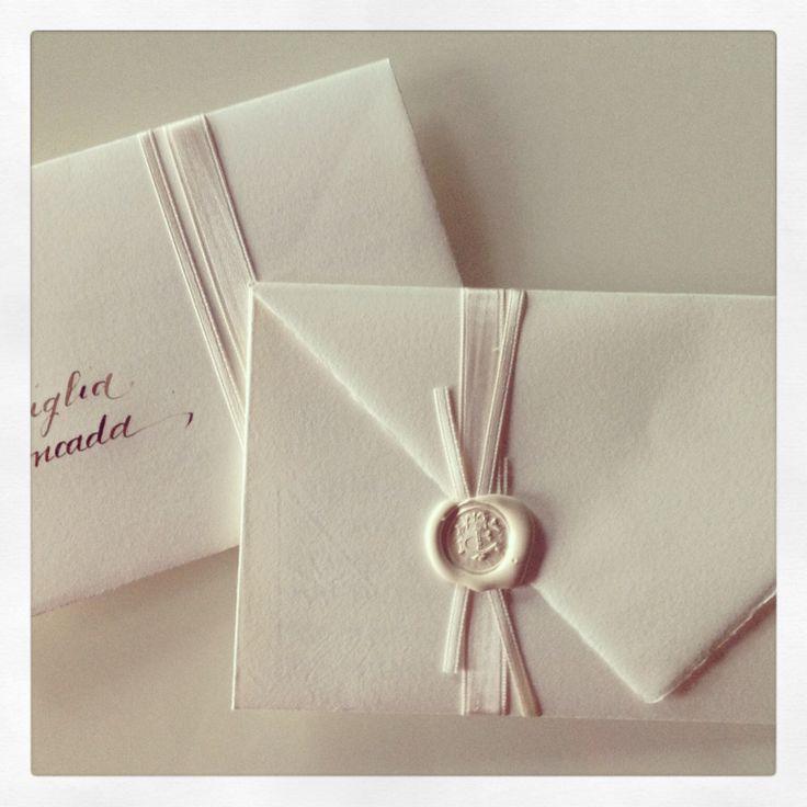 Partecipazioni origami in carta Amalfi - www.silviamandelli.com