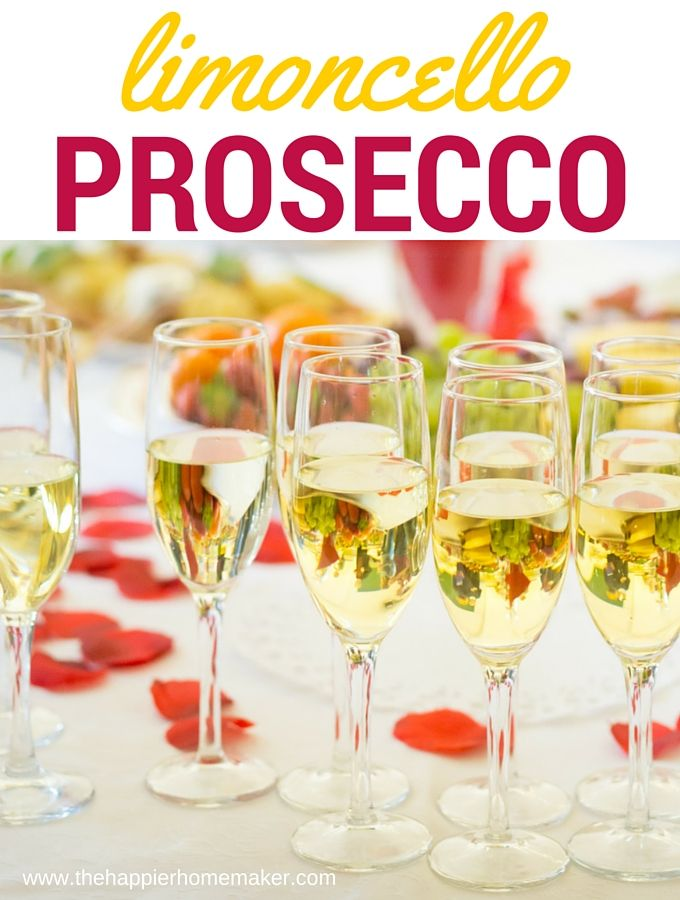 Limoncello prosecco cocktail recipe dr oz twists and for Drinks with prosecco and vodka