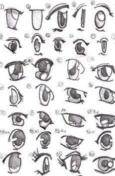 Tout pour savoir dessiner des yeux chibis