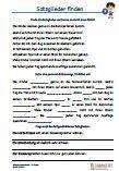 #Satzglieder 4.Klasse #Tuerkisch Arbeitsanweisungen sind in den Lösungen in Türkisch übersetzt. #Arbeitsblaetter / #Uebungen / Aufgaben für den #Grammatik- und Deutschunterricht - Grundschule.  Es handelt sich um verschiedene Übungen zum Vertiefen der Satzglieder, die auf 15 Arbeitsblätter verteilt sind. Satzglieder finden und durch einen Strich trennen. In Lückentexte Satzgegenstände und Satzaussage einsetzen. Nach den Satzgliedern fragen.