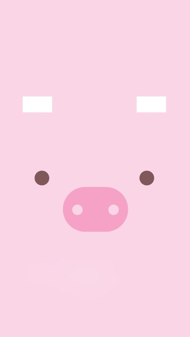 Iphone Wallpaper One Sided Love : cute Pig Piggy Pinterest cute Pigs, Pigs and Wallpapers