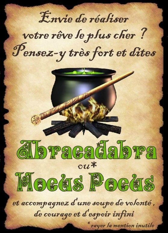 affiche abracadabra