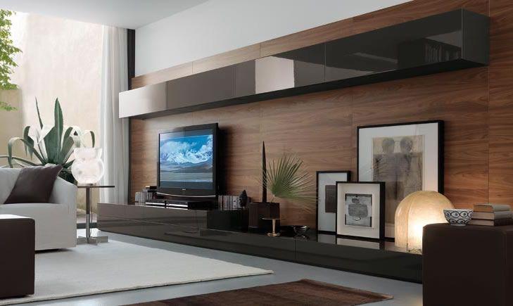 Moderne Wohnwände 2012