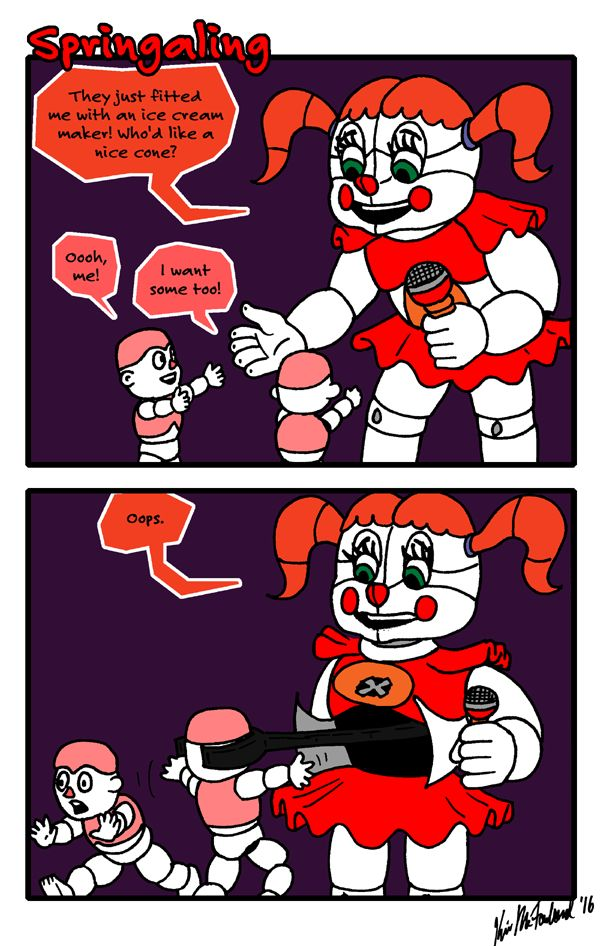 Circus Baby Shoe Sister Location