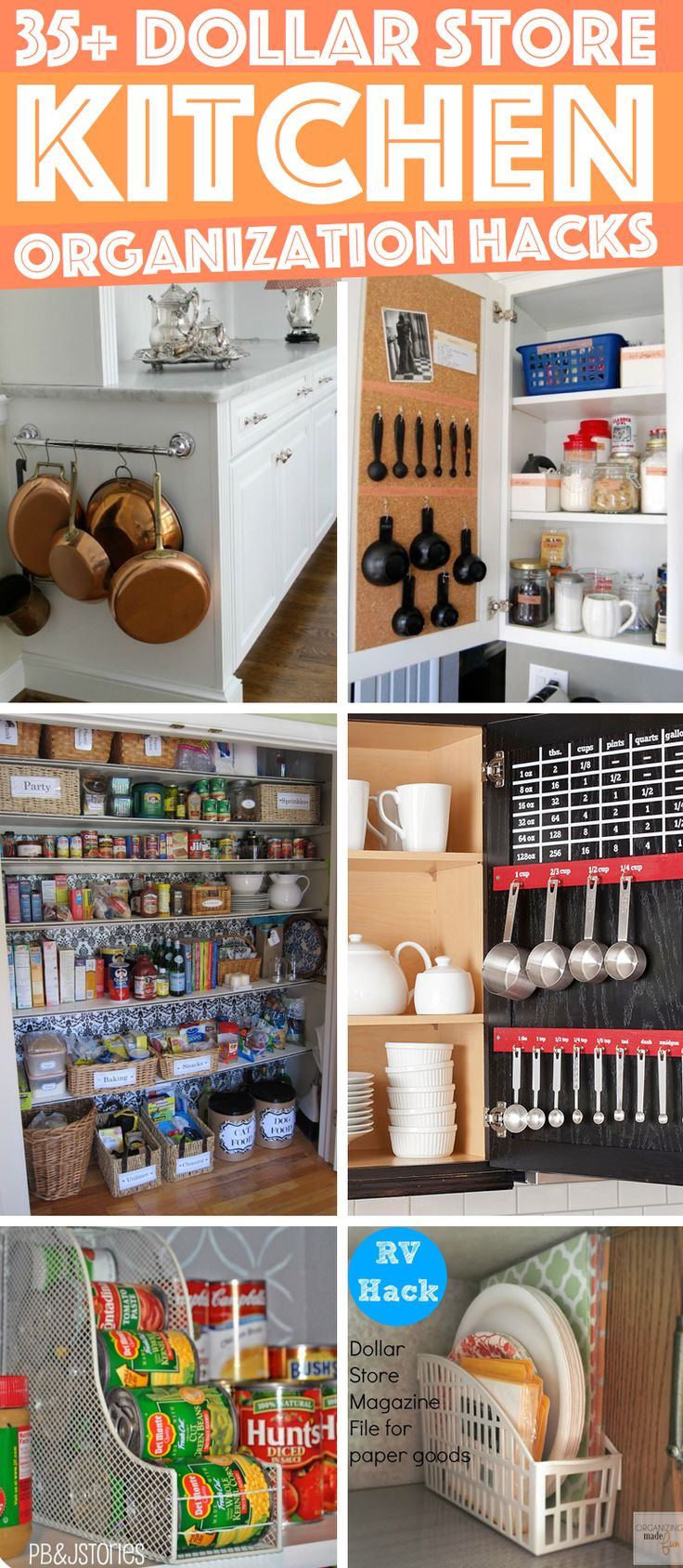Ideas for kitchen organization - 36 Dollar Store Kitchen Organization Hacks You Can Pull Off Like A Child S Play