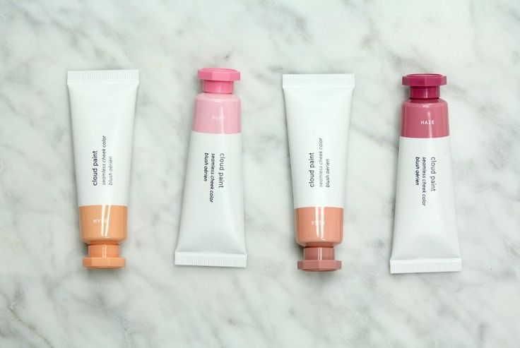 A review and swatches of the Glossier Cloud Paint blushes. And a Glossier promo code is linked in the post as well!