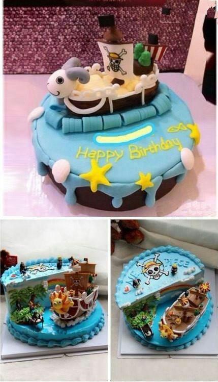 One Piece cake! :D